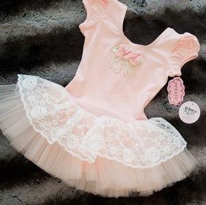 Potatou ballerina/tutu onesie (12-24mo)